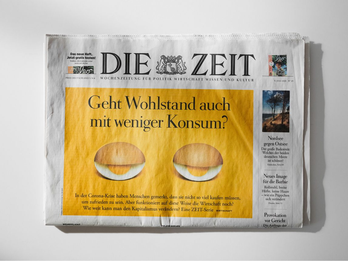 Photography for Die Zeit by Marion Luttenberger (MediumLarge Studio)