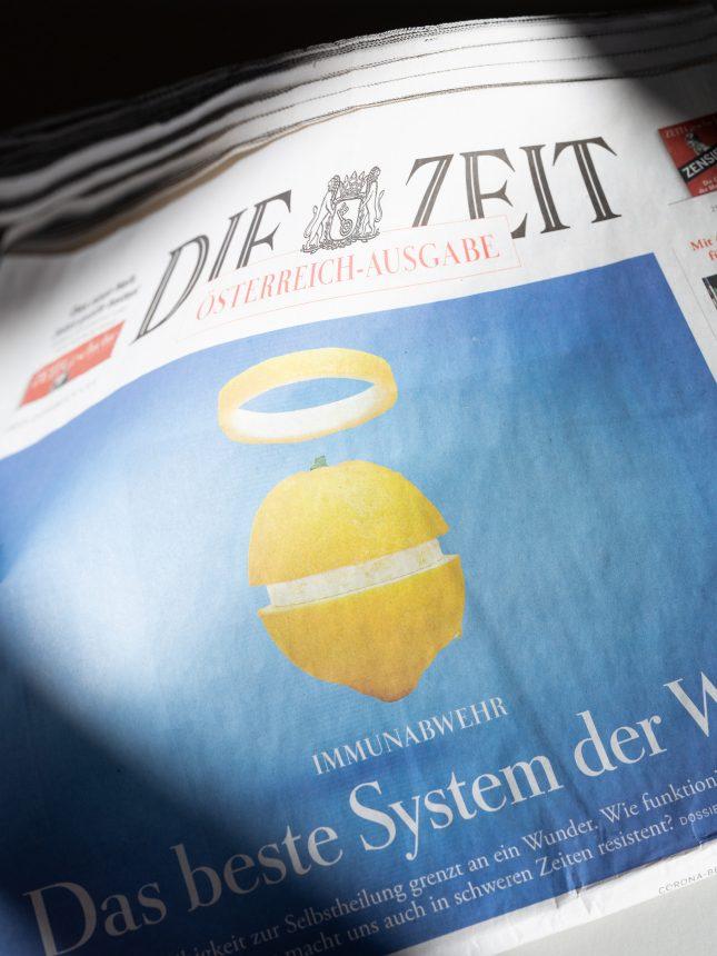 Die Zeit / N°13 Photography by Marion Luttenberger (MediumLarge Studio)